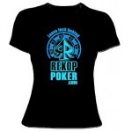 Camiseta Leave Luck Behind CHICA Color negro