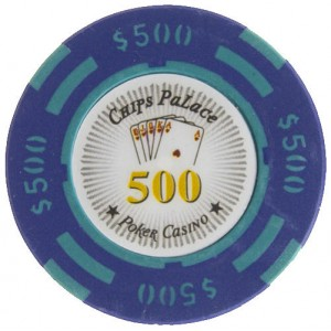 25 fichas Chips Palace valor 500