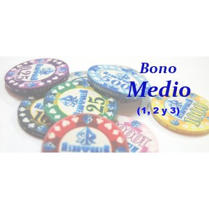 Bono Medio Texas Hold'em (trimestral)