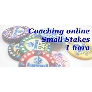 Coaching online Small Stakes 1 hora