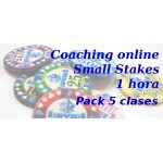 Coaching Small Stakes Pack 5 clases 1 hora
