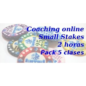 Coaching online Small Stakes ------- Pack 5 clases de 2h