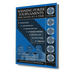 Winning poker tournaments: one hand at a time
