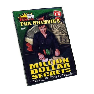 Phil Hellmuth. Bluffing and tells.