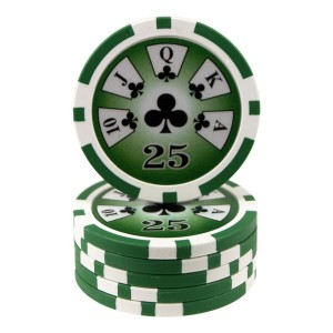 25 fichas Royal Flush -valor-25-
