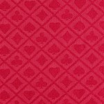 Tapete Suited rojo 2,5 m