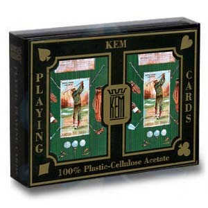KEM Golf Green Double Narrow Standard