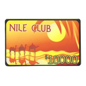 Placa Nile Club 10.000
