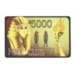 Placa Nile Club 5.000