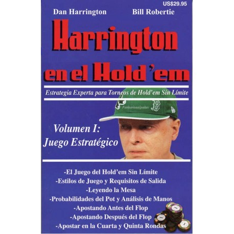 Harrington en el Holdem. Volumen 1.