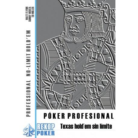 Póker profesional. Texas Hold'em sin límite.